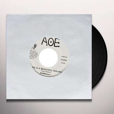 Formula 1 WALKING WITH MY EYES CLOSED Vinyl Record