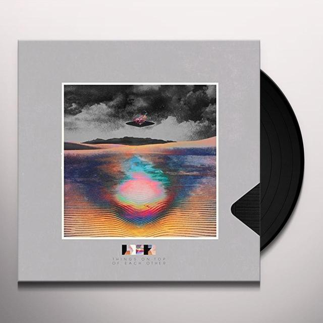 LayerZ THINGS ON TOP OF EACH OTHER Vinyl Record - UK Import