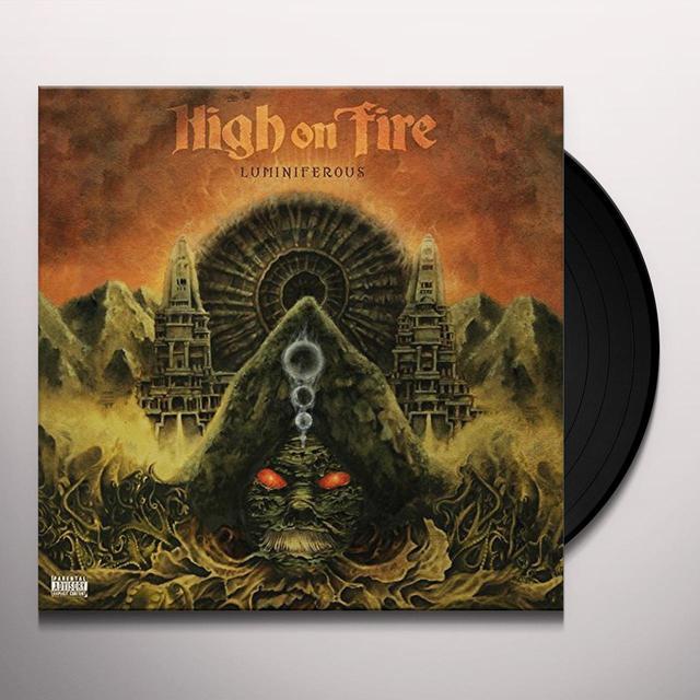High On Fire LUMINIFEROUS Vinyl Record - UK Import