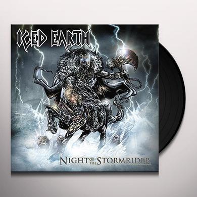 Iced Earth NIGHT OF THE STORMRIDER Vinyl Record - UK Import