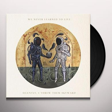 WE NEVER LEARNED TO LIVE SILENTLY I THREW THEM SKYWARD Vinyl Record - Colored Vinyl, Green Vinyl, UK Import
