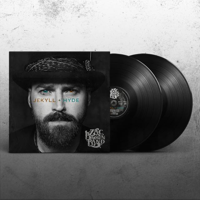 Zac Brown Band JEKYLL + HYDE Vinyl Record
