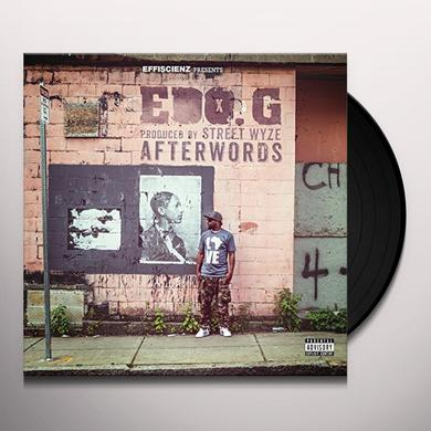 Edo.G. AFTERWORDS Vinyl Record