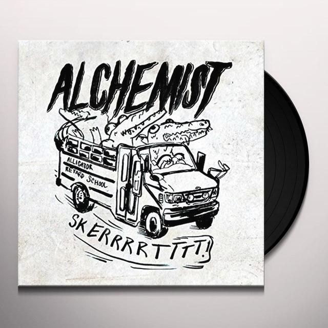 Alchemist RETARDED ALLIGATOR BEATS Vinyl Record