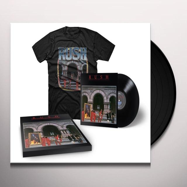 Rush MOVING PICTURES (WTSH) Vinyl Record - Shirt Included