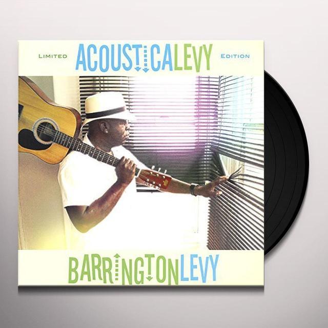 Barrington Levy ACOUSTICALEVY Vinyl Record