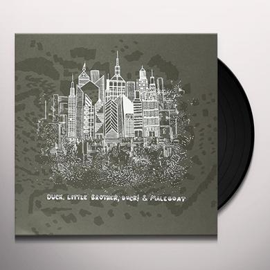 DUCK LITTLE BROTHER DUCK & MALEGOAT SPLIT Vinyl Record