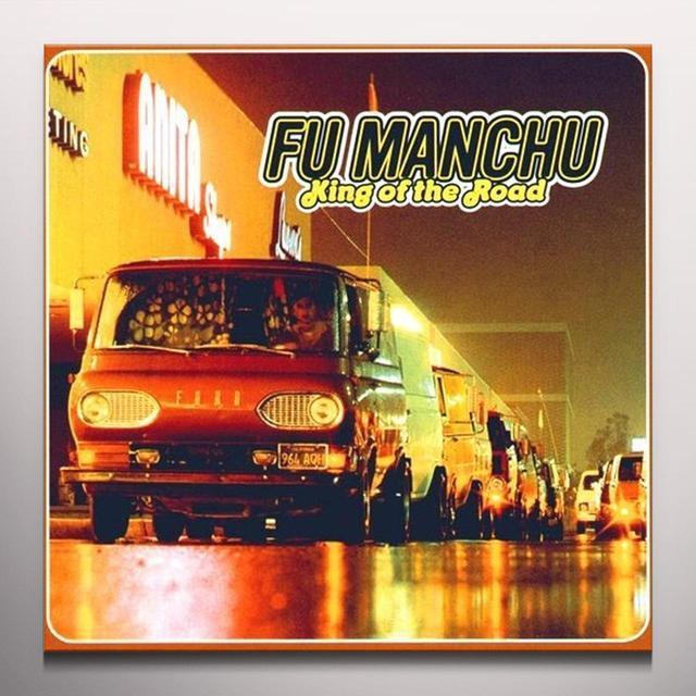 Fu Manchu KING OF THE ROAD Vinyl Record - Colored Vinyl, Yellow Vinyl, Reissue