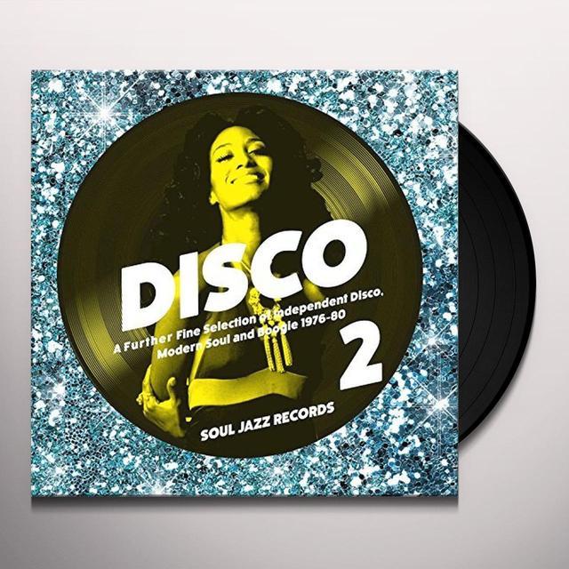 Soul Jazz Records Presents DISCO 2 (VOL 2) Vinyl Record - Digital Download Included