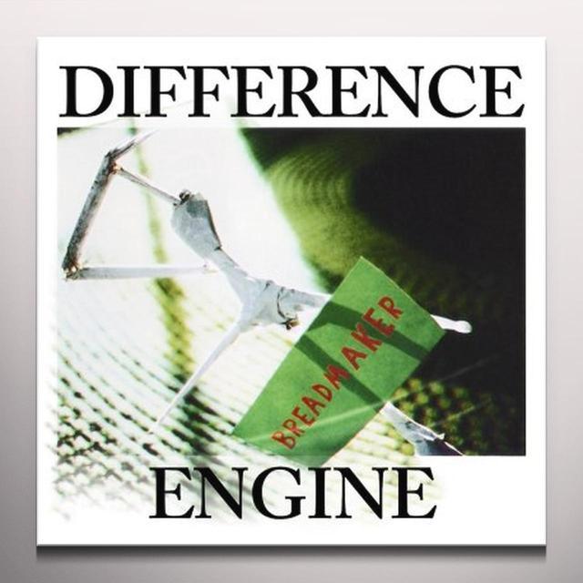 Difference Engine BREADMAKER Vinyl Record - Green Vinyl, White Vinyl