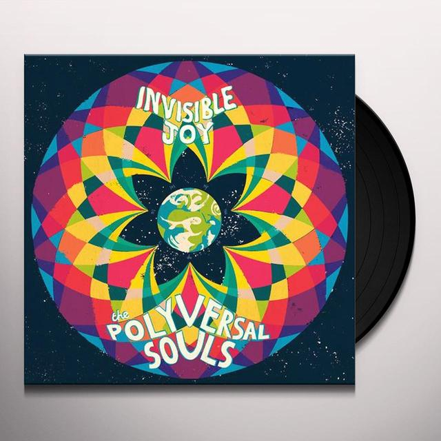 The Polyversal Souls INVISIBLE JOY Vinyl Record - Digital Download Included