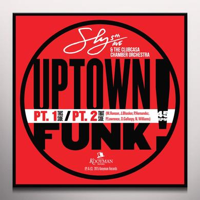 SLY5THAVE & CLUBCASA CHAMBER ORCHESTRA UPTOWN FUNK PT. 1 & 2 Vinyl Record - Colored Vinyl, White Vinyl