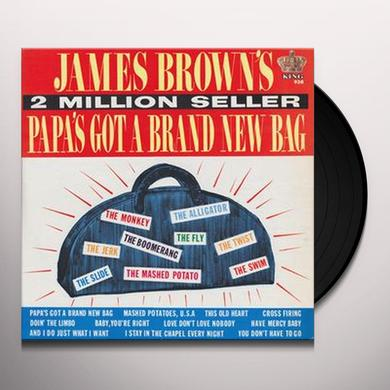 James Brown PAPA'S GOT A BRAND NEW BAG Vinyl Record