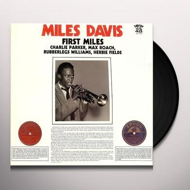 Miles Davis FIRST MILES Vinyl Record