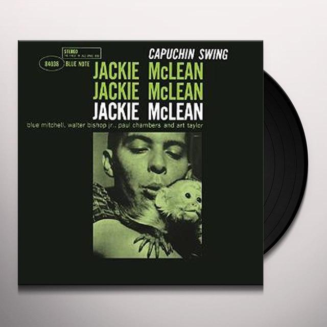Jackie Mclean CAPUCHIN SWING Vinyl Record
