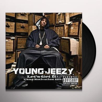 Young Jeezy LET'S GET IT: THUG MOTIVATION 101 Vinyl Record