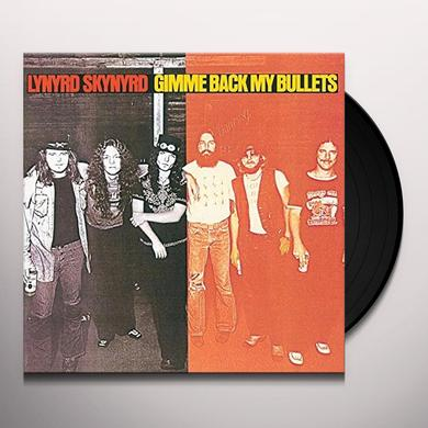 Lynyrd Skynyrd GIMME BACK MY BULLETS Vinyl Record