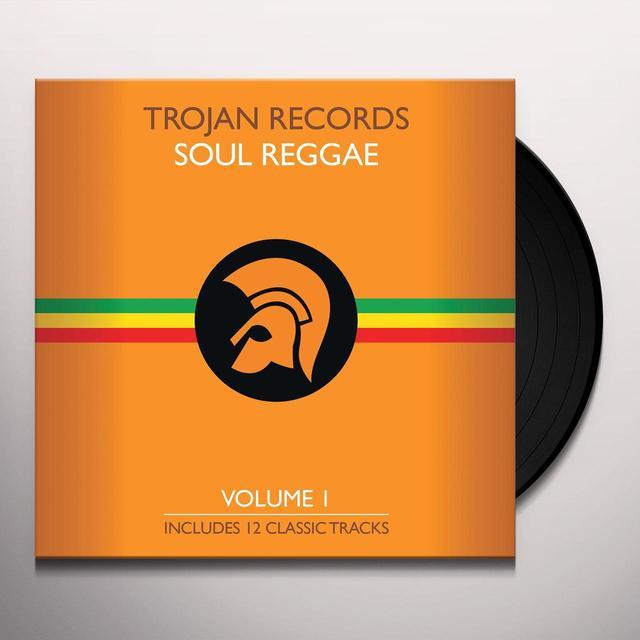 BEST OF TROJAN SOUL REGGAE 1 / VARIOUS Vinyl Record