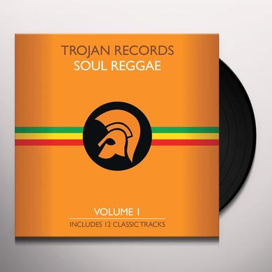 BEST OF TROJAN SOUL REGGAE 1 / VARIOUS Vinyl Record