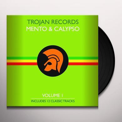 BEST OF TROJAN MENTO & CALYPSO 1 / VARIOUS Vinyl Record