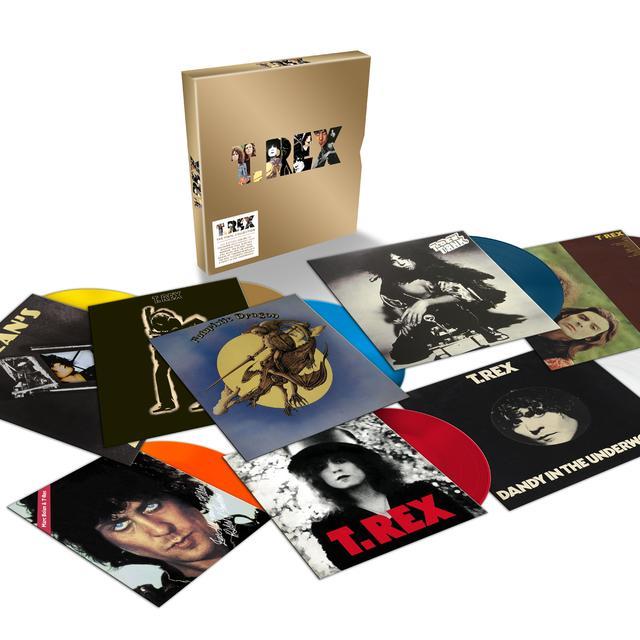 T-Rex VINYL COLLECTION: COLORED VINYL EDITION Vinyl Record - UK Release