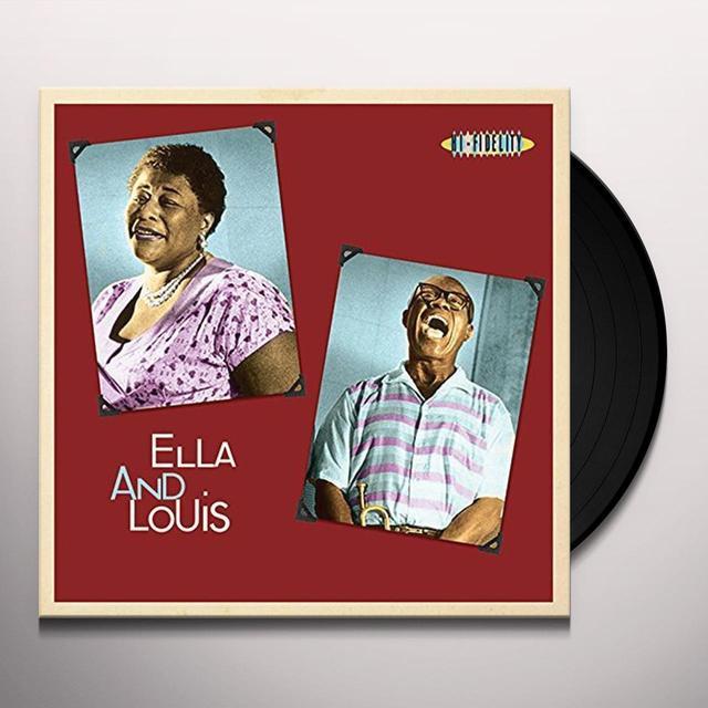 Louis Armstrong,Ella Fitzgerald ELLA & LOUIS Vinyl Record - UK Import