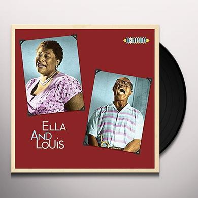 Louis Armstrong,Ella Fitzgerald ELLA & LOUIS Vinyl Record