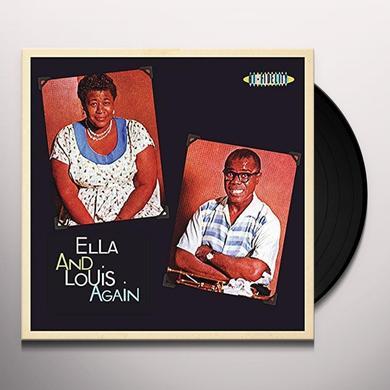 Louis Armstrong,Ella Fitzgerald ELLA & LOUIS AGAIN Vinyl Record - UK Import