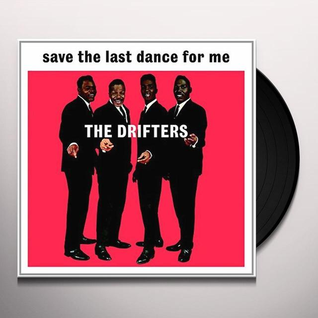 Drifters SAVE THE LAST DANCE FOR ME Vinyl Record - UK Import
