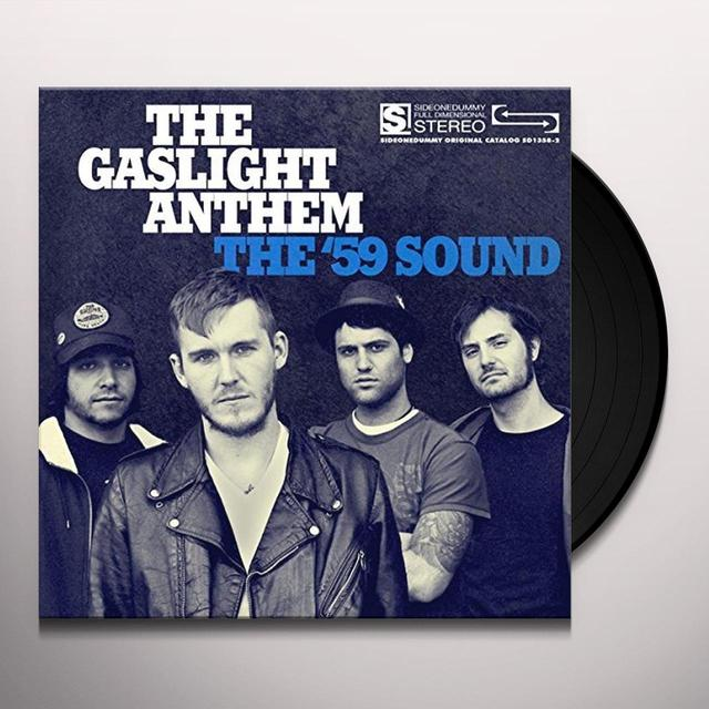 The Gaslight Anthem 59 SOUND Vinyl Record - UK Release