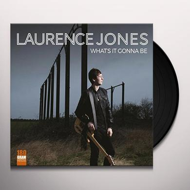 Laurence Jones WHAT'S IT GONNA BE Vinyl Record - UK Import