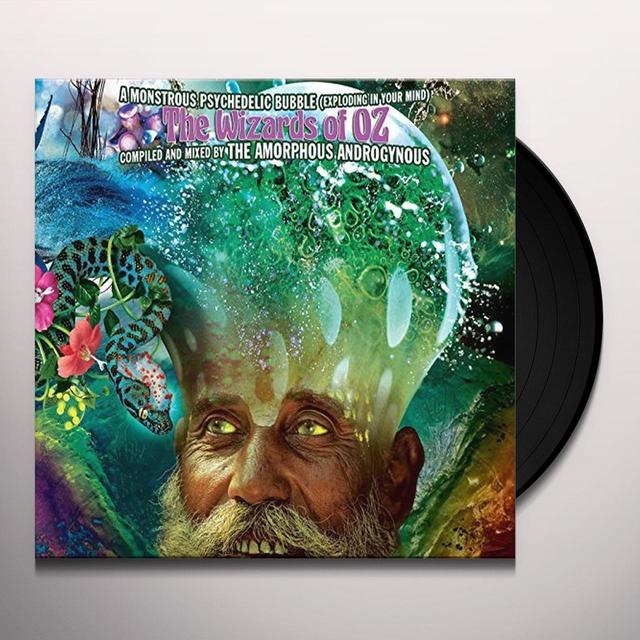 Amorphous Androgynous MONSTROUS PSYCHEDELIC BUBBLE:EXPLODING IN YOUR Vinyl Record