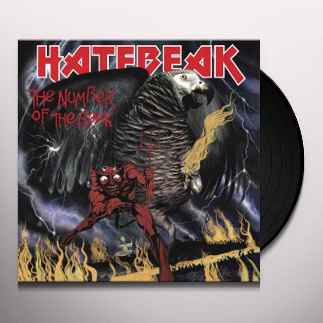 HATEBEAK NUMBER OF THE BEAK Vinyl Record