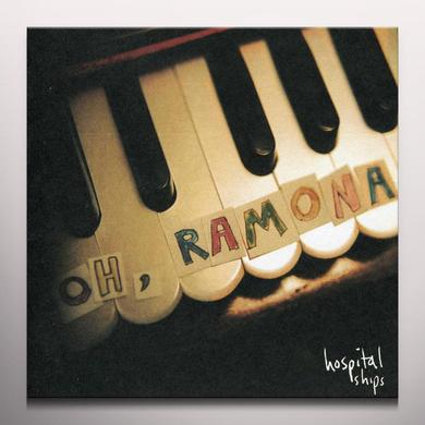 Hospital Ships OH RAMONA (BONUS TRACKS) Vinyl Record - 180 Gram Pressing, Pink Vinyl, Digital Download Included