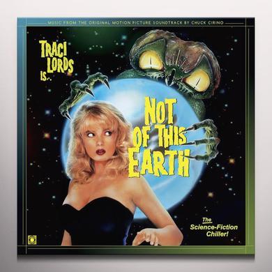 Chuck Cirino NOT OF THIS EARTH / O.S.T. Vinyl Record - Clear Vinyl, Gatefold Sleeve, Yellow Vinyl