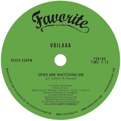 VOILAAA SPIES ARE WATCHING ME / LE DISCO DES CAPITALES Vinyl Record