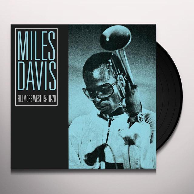 Miles Davis FILLMORE WEST 15-10-70 Vinyl Record