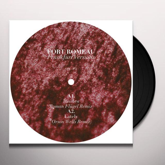 Fort Romeau FRANKFURT VERSIONS Vinyl Record