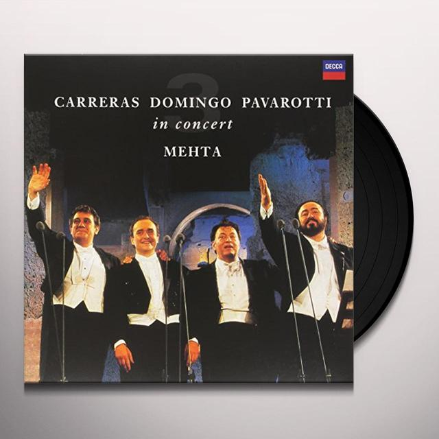 PAVAROTTI / DOMINGO / CARRERAS / MEHTA THREE TENORS 25TH ANNIVERSARY Vinyl Record