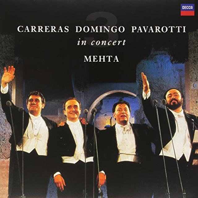 PAVAROTTI / DOMINGO / CARRERAS / MEHTA THREE TENORS 25TH ANNIVERSARY Vinyl Record