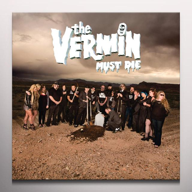 VERMIN MUST DIE Vinyl Record - Colored Vinyl, Gray Vinyl, Limited Edition, Digital Download Included