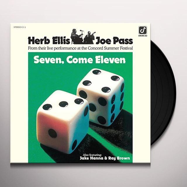 Herb Ellis / Joe Pass SEVEN COME ELEVEN Vinyl Record