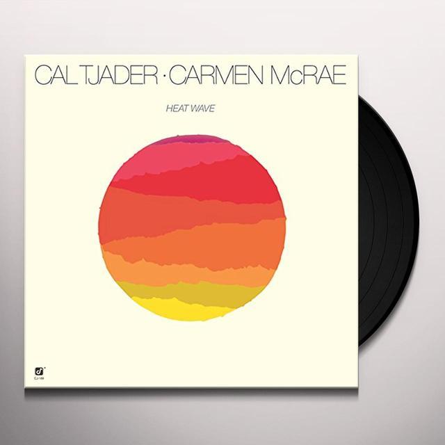 Cal Tjader / Carmen Mcrae HEATWAVE-FEATURING PONCHO SANCHEZ Vinyl Record - Spain Import