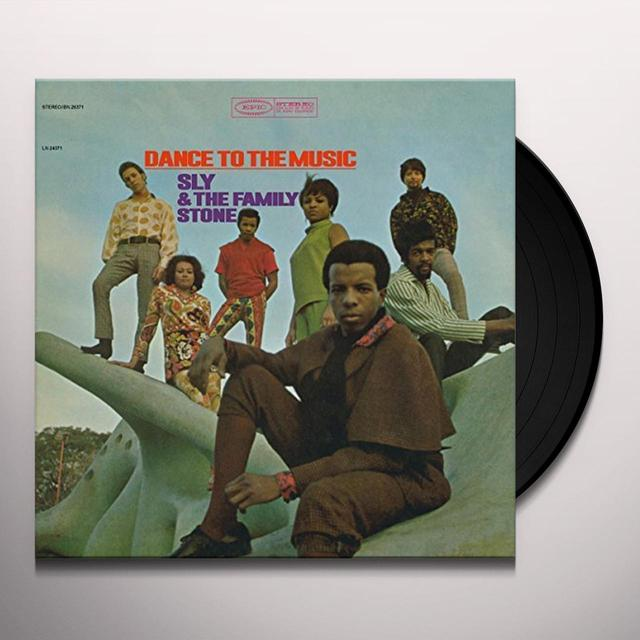 Sly & the Family Stone DANCE TO THE MUSIC Vinyl Record - Holland Import