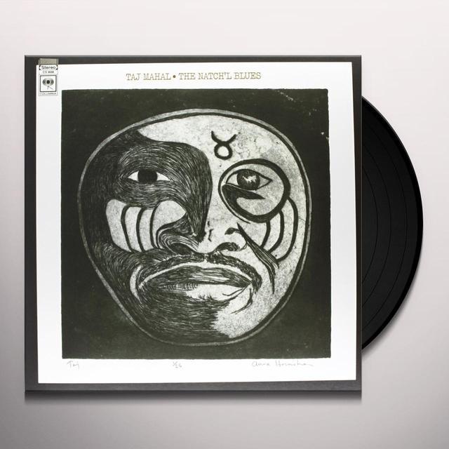 Taj Mahal NATCH'L BLUES Vinyl Record - Holland Import