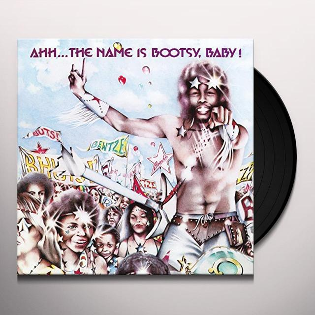 Bootsy'S Rubber Band AHH: NAME IS BOOTSY BABY Vinyl Record