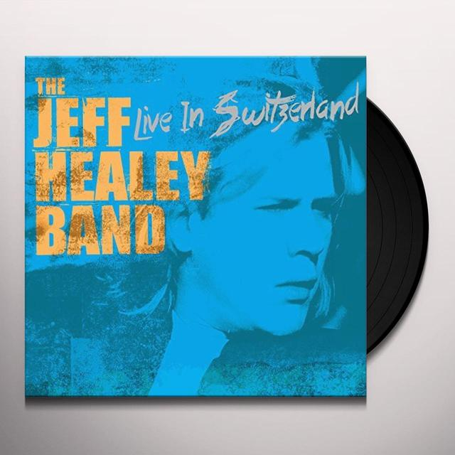 Jeff Healey LIVE IN SWITZERLAND Vinyl Record - Holland Import