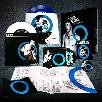 Germs CAT'S CLAUSE Vinyl Record