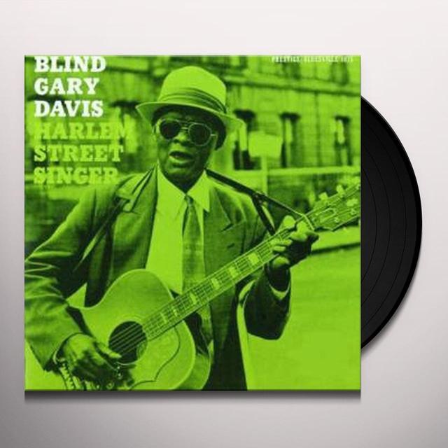 Gary Davis HARLEM STREET SINGER Vinyl Record