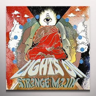 STRANGE MAJIK LIGHTS ON Vinyl Record